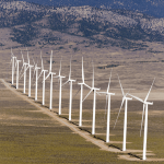 Spring Valley Wind Farm in Ely, Nevada.