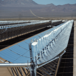 Solar CSP parabolic trough