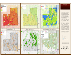 Lincoln County, NV Renewable Resources Map
