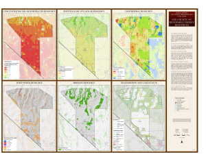 Nye County, NV Renewable Resources Map.