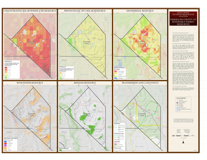 Esmeralda County, NV Renewable Resources Map